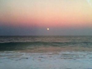 ~Photo by Melanie Ericksen Full Moon From Singer Island